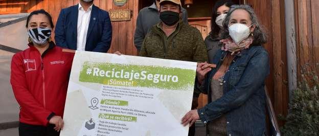Inician campaña solidaria para ayudar a recicladores de La Serena y Coquimbo